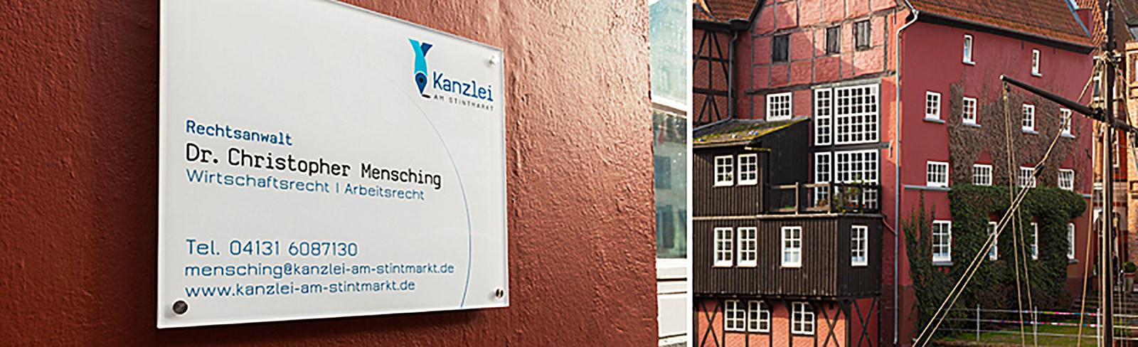 Kontakt mit Kanzlei am Stint in Lüneburg
